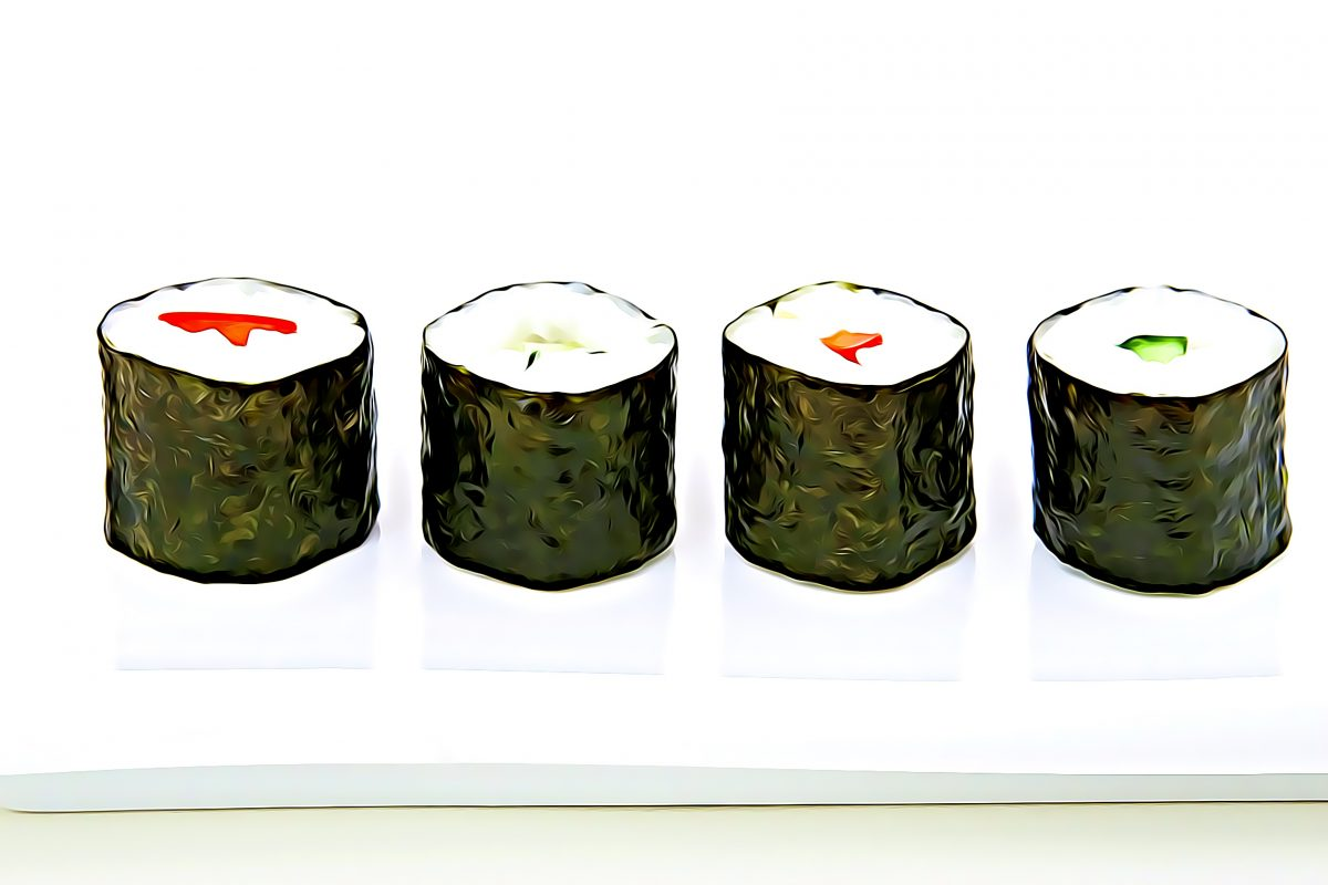 SushiSwap mit vier SUSHI